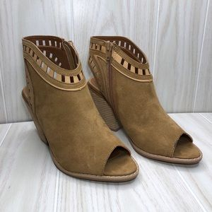 Dolce by Mojo Moxy Maddie Ankle Booties size 7.5